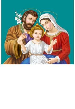 P-1085 Holy Family Daily Calendar 2019