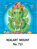 D 713 Leaf Ganesh  Daily Calendar 2020 Online Printing