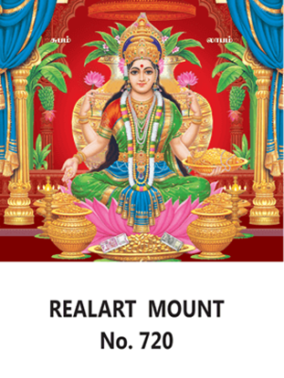 D 720 Lord Lakshmi Daily Calendar 2020 Online Printing