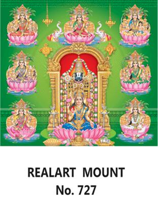 D 727 Balaji Asta  Lakshmi Daily Calendar 2020 Online Printing