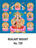 D 728 Asta Lakshmi Daily Calendar 2020 Online Printing