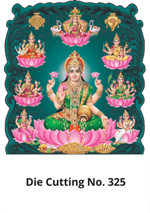 D 325 Asta Lakshmi Die Cutting Daily Calendar 2020 Online Printing