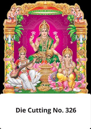 D 326 Diwali Pooja Die Cutting Daily Calendar 2020 Online Printing