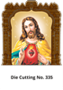 D 335 Jesus Die Cutting Daily Calendar 2020 Online Printing