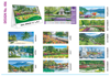 T 406 Natural Scenery   - Table Calendar With Planner Online Printing 2020