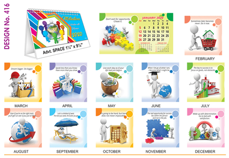 Picture for category Desk Calendars