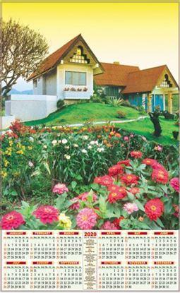 P512 House Scenery Polyfoam Calendar 2020 Online Printing