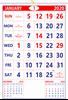"""V801  13x19"""" 12 Sheeter Monthly Calendar 2020"""