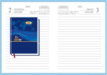 P3600 Diary 2020