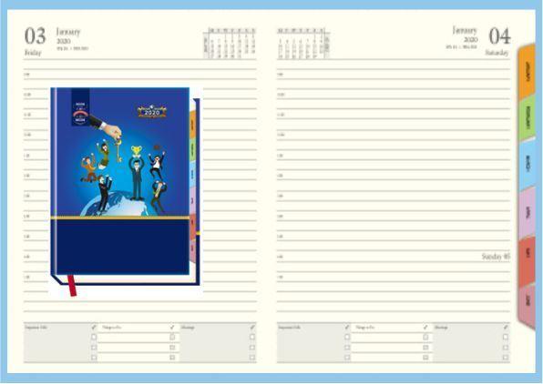 P3631 Diary 2020