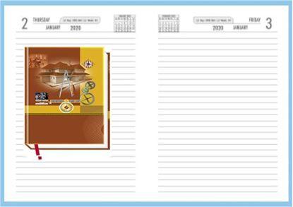 P3609 Diary 2020