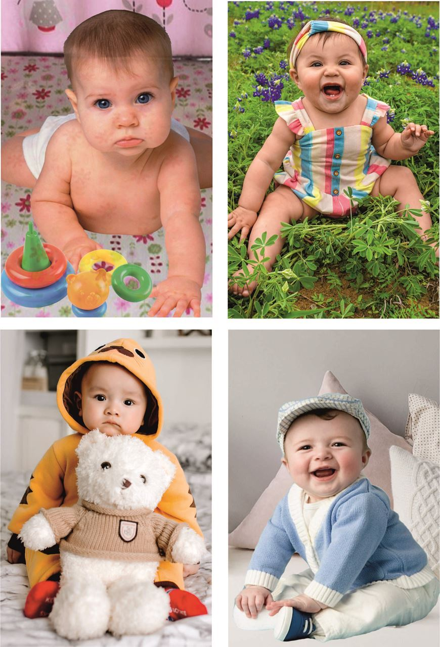 P4G-5003 Cute Baby Posters | Baby Wall Poster For Room Decor