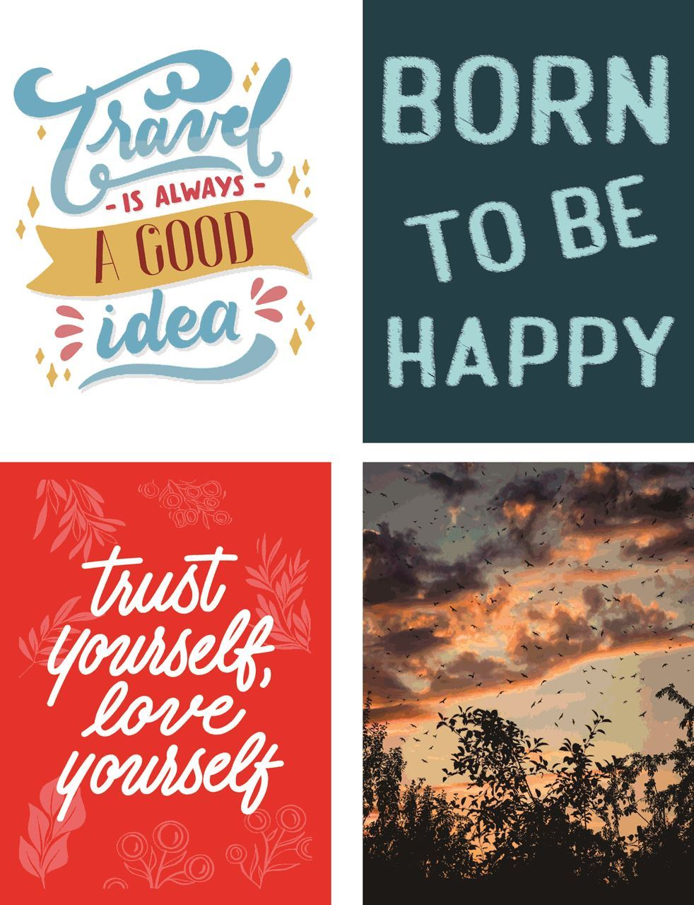P1022 Motivational & Nature Posters