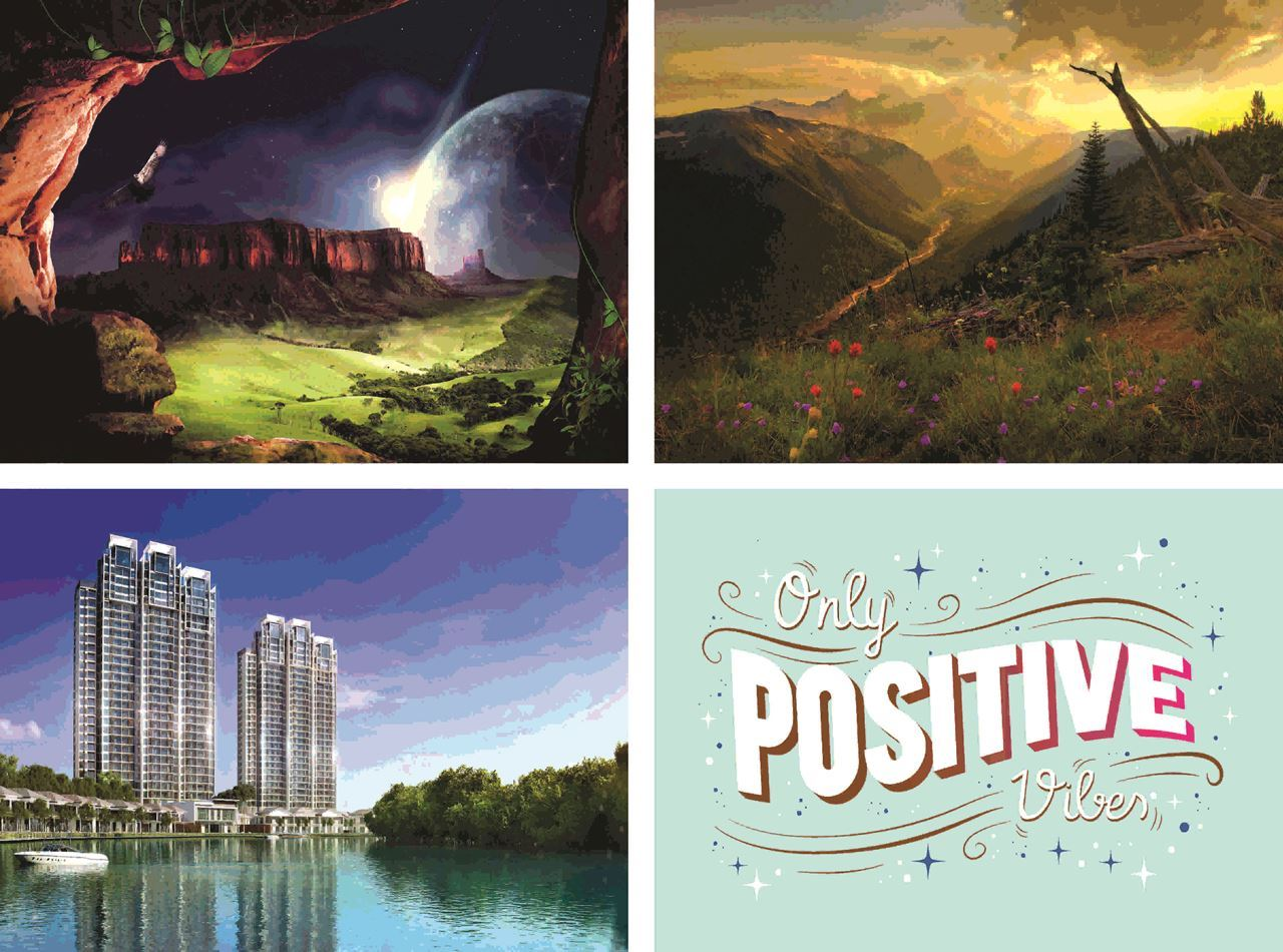 P1300 Scenery & Architecture  Posters
