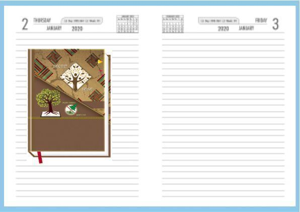 Promotional Diary Design