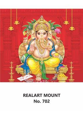 R702 Ganesh Daily Calendar Printing 2021