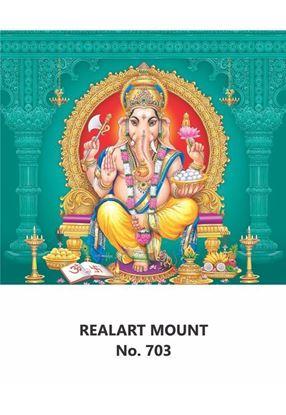 R703 Sri Ganesh Daily Calendar Printing 2021
