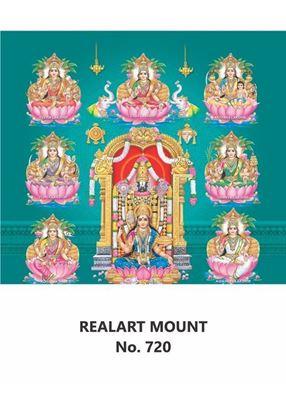R720 Balaji Ahsta Lakshmi Daily Calendar Printing 2021