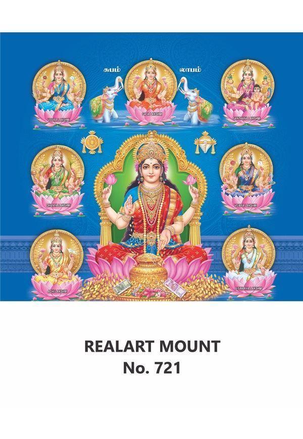 R721 Asta Lakshmi Daily Calendar Printing 2021