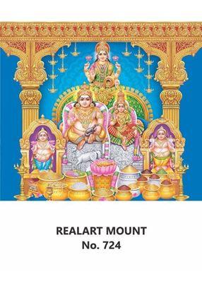 R724 Kuberar Lakshmi Daily Calendar Printing 2021