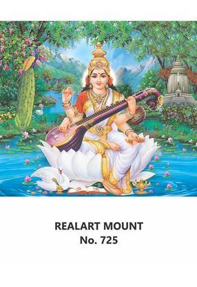 R725 Lord Saraswathi Daily Calendar Printing 2021