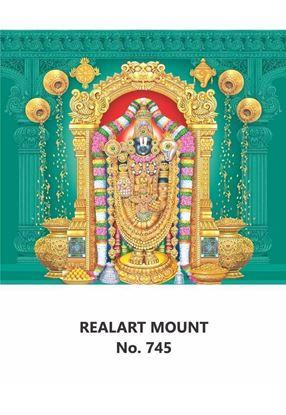 R745 Lord Balaji Daily Calendar Printing 2021