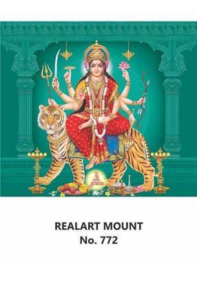 R772 Durga Devi Daily Calendar Printing 2021