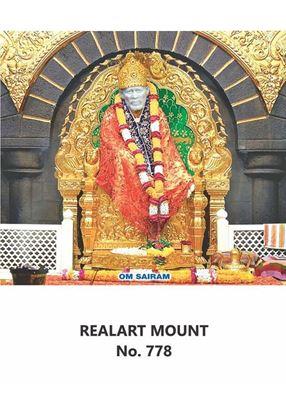 R778 Sai Baba Daily Calendar Printing 2021