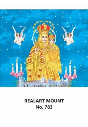 R783 Annai Velankanni Daily Calendar Printing 2021