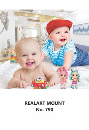 R790 Two Baby Daily Calendar Printing 2021