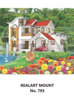 R793 House Scenery Daily Calendar Printing 2021