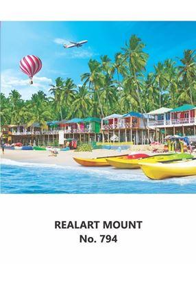 R794 Beach Scenery Daily Calendar Printing 2021