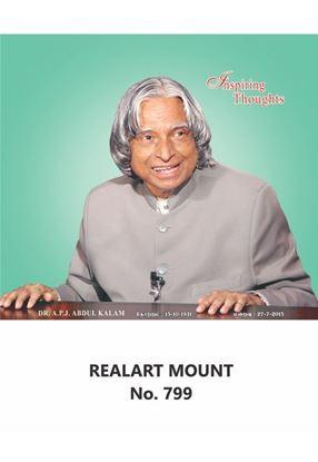 R799 Dr.A. P. J. Abdul Kalam Daily Calendar Printing 2021