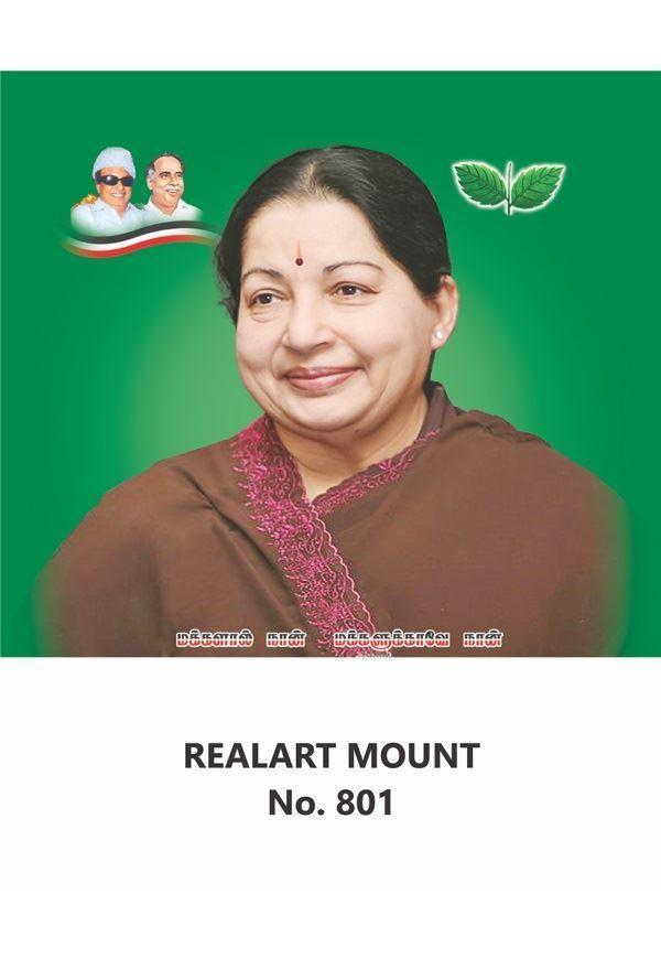 R801 J. Jayalalithaa Daily Calendar Printing 2021