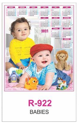 R922 Babies  RealArt Calendar Print 2021