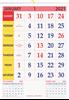 "V835 13x19"" 12 Sheeter Monthly Calendar Printing 2021"