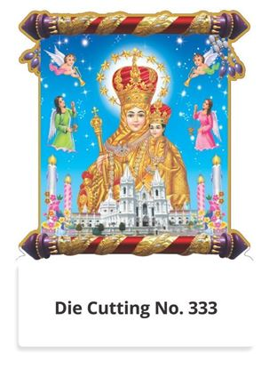 R333 Annai Velankanni Two in One Monthly Daily Calendar Printing 2021