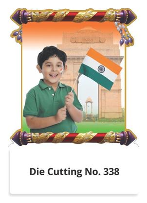 R338 Baby with National Flag Two in One Monthly Daily Calendar Printing 2021