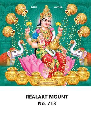 R713 Dhana Lakshmi Daily Calendar Printing 2022