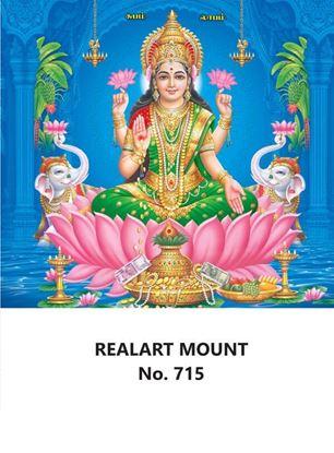 R715 Lord Lakshmi Daily Calendar Printing 2022