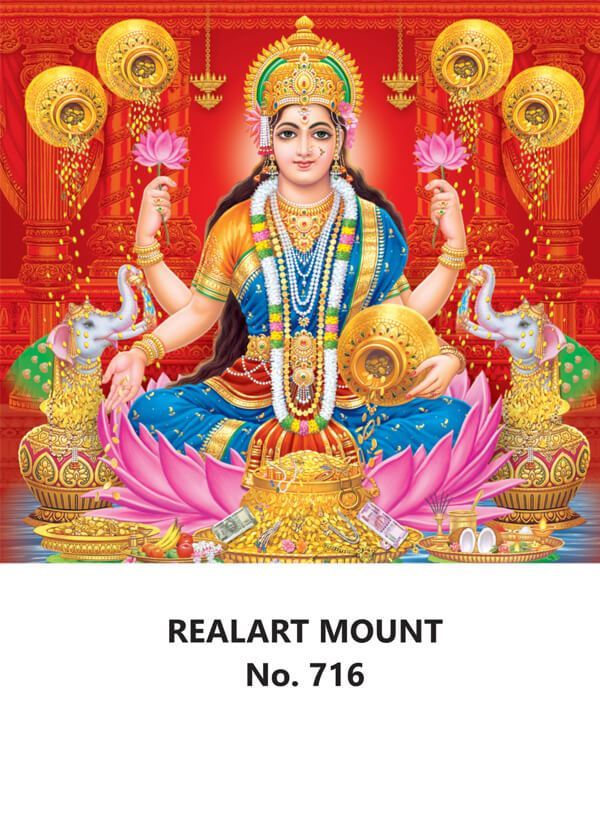 R716 Dhana Lakshmi Daily Calendar Printing 2022