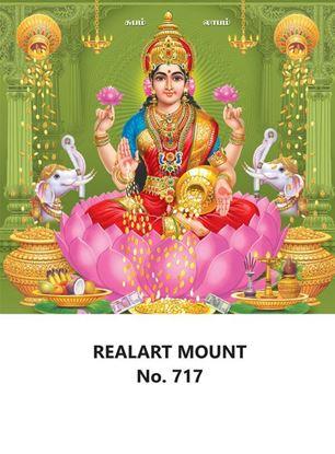 R717 Lord Lakshmi Daily Calendar Printing 2022