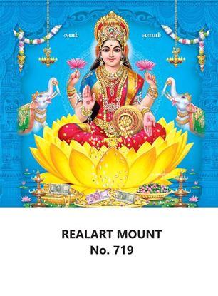 R719 Lord Lakshmi Daily Calendar Printing 2022