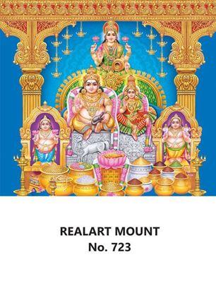 R723 Kuberar Lakshmi Daily Calendar Printing 2022