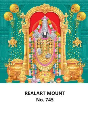 R745 Lord Balaji Daily Calendar Printing 2022