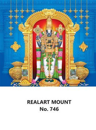 R746 Lord Balaji Daily Calendar Printing 2022