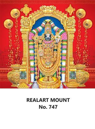 R747 Lord Balaji Daily Calendar Printing 2022