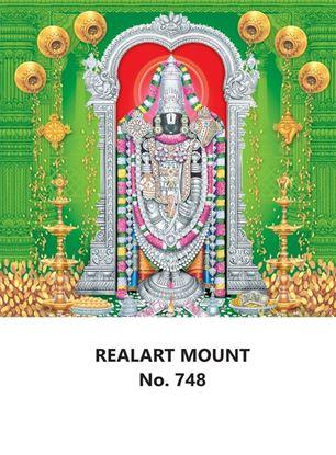 R748 Lord Balaji Daily Calendar Printing 2022