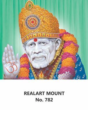 R782 Sai Baba Daily Calendar Printing 2022