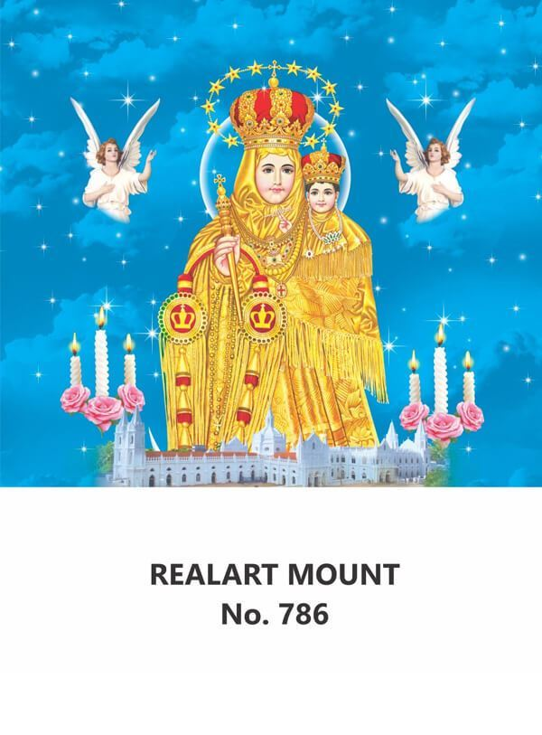 R786 Annai Velankanni Daily Calendar Printing 2022